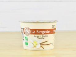 Dessert brebis vanille