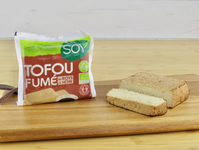 tofu fum bio au bois de h tre 200g biotentik. Black Bedroom Furniture Sets. Home Design Ideas