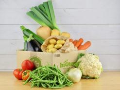 paniers fruits et légumes bio biotentik