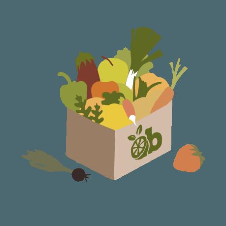paniers magasin produits bio