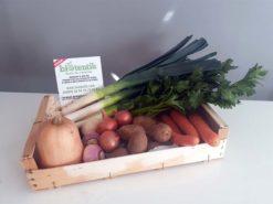 panier de légumes bio solo