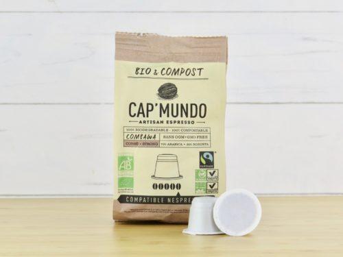 café cap mundo 100% biodégradable