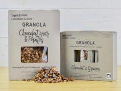 Granola chocolat noir et pépites