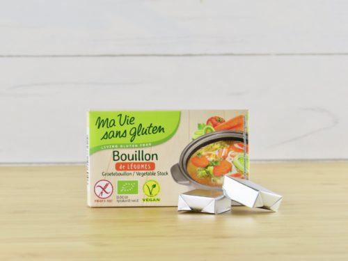 Bouillon de légumes sans gluten