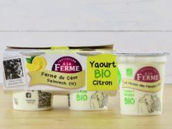 yaourt bio citron