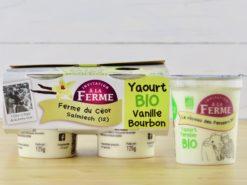 yaourt bio vanille bourbon