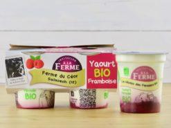 yaourt bio framboise