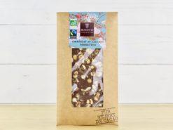 Chocolat au lait bio noisette