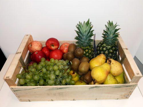 Panier de fruits bio famille xxl