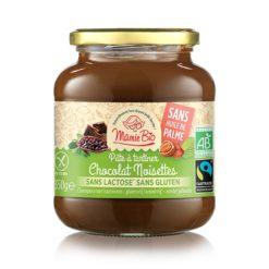 pate a tartiner chocolat noisette sans lactose sans gluten 350g