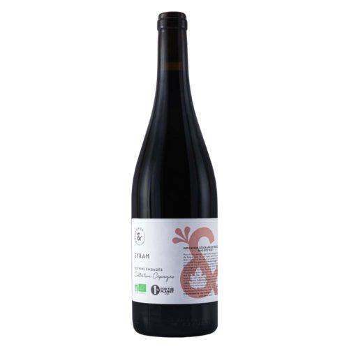 vin rouge bio syrah 2020