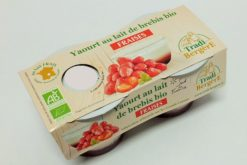yaourt brebis bio à la fraise